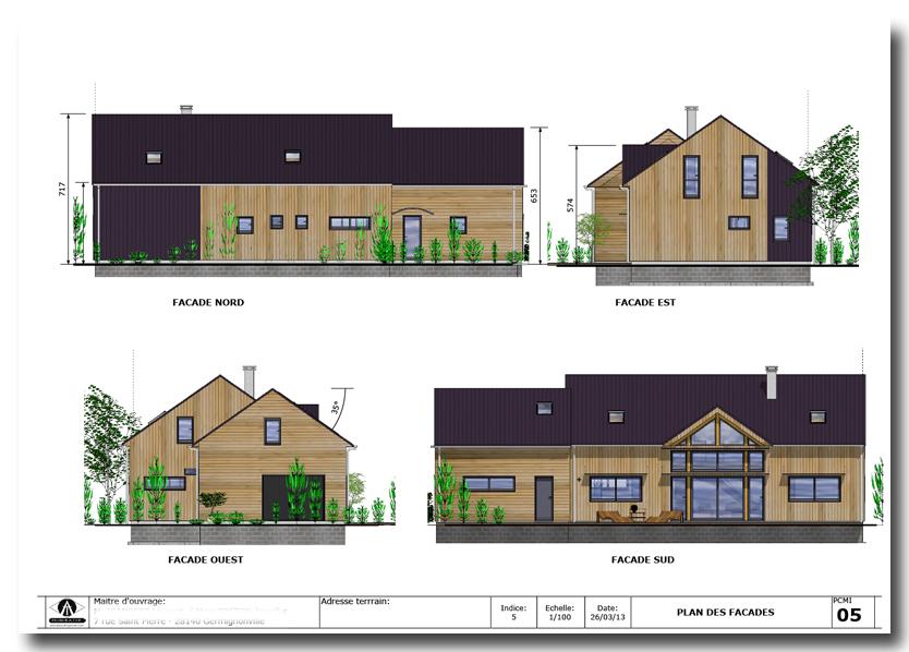 Etude batir dessinateur permis de construire for Dessiner un plan de facade